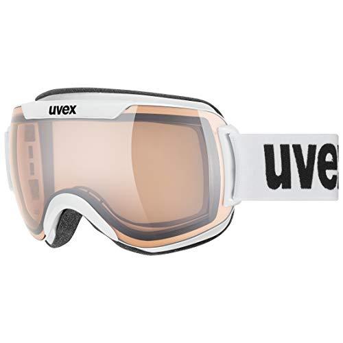 uvex Unisex– Erwachsene, downhill 2000 V Skibrille, white, one size