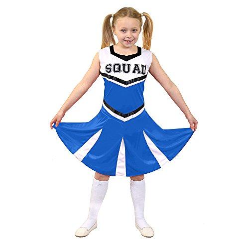 I Love Fancy Dress ilfd7095l Kinder Cheerleader Fancy Kleid Kostüm mit Squad Print und Faltenrock (groß)