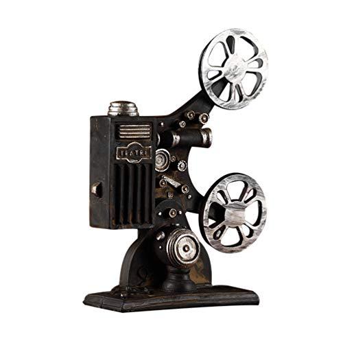 CLISPEED Proyector de Película Vintage Antiguo Proyector de