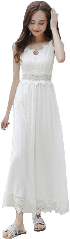 ZENWEN Beach Holiday Beach Skirt Female Summer New Bali Slim Strap Dress Long Skirt Fairy Wide Leg Trousers
