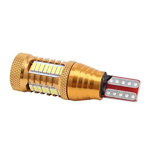 RJJ Wyfan Lámpara LED W16W T15 4014 32SMD CAIL DE Cara DE Cambio BOLVO INVERSIÓN (Color : Yellow)