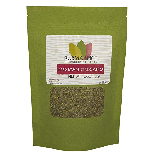 Mexican Oregano | Aromatic Dried Herb | Ideal for Latin-American Recipes 1.5 oz.