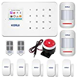 KERUI G18 GSM Wireless Home Alarm System,Smart DIY Burglar Security System Kits