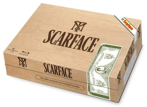 Scarface Blu-ray Steelbook Limited Edition Sigar Humidor Box Set [Import]