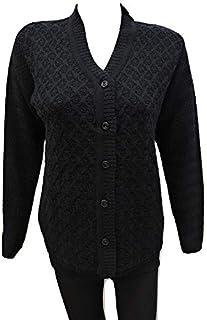 LADY WILLINGTON Women's Wool V-Neck Cardigan