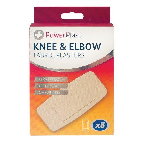 Schuldige gadgets ̈ - 5 x extra grote knie & elleboog stof pleisters flexibele gezamenlijke wond gesneden cover