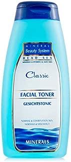 Original Totes Meer Mineral Gesichts Toner - 250 ml Aus Israel by Mineral Beauty System - Reinigung Für Gesicht, Hals, Beseitigt Unreinheiten Und Pflegt Die Haut