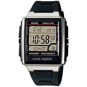 """[カシオ] 腕時計 ウェーブセプター 電波時計 MULTI BAND5 デジタルモデル ELバックライトタイプ WV-59J-1AJF メンズ ブラック"""""""