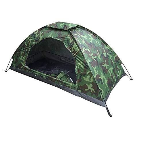 AIBOOSTPRO Tragbares Trekking Zelt Tarnzelt Ultraleichte Camping Zelt für Trekking, Festival, Camping und Outdoor (1 Person)