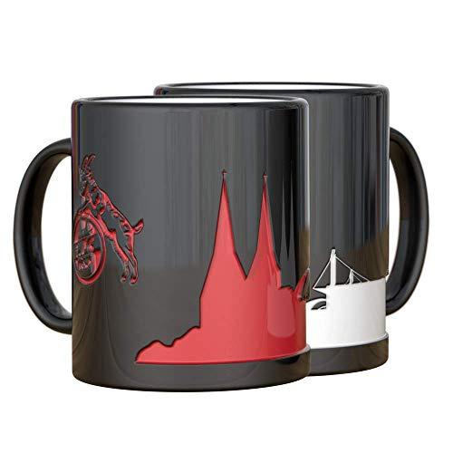 1. FC Köln Magic Mug Zaubertasse Tasse Becher Kaffeetasse SKYLINE, 4020197