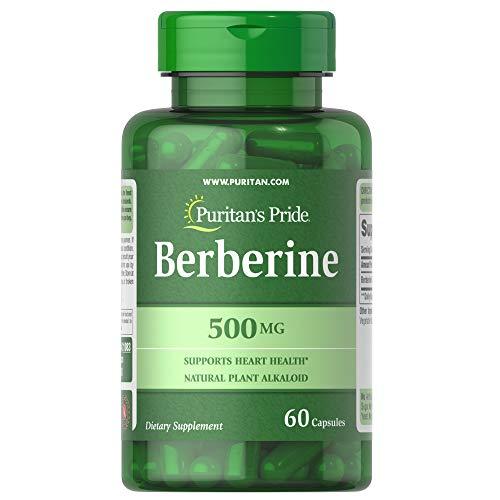 Puritan's Pride Berberine 500 mg, 60 Capsules