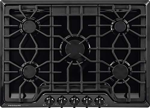 Image of Frigidaire FGGC3047QB Gallery 30-Inch Gas Cooktop, Black: Bestviewsreviews