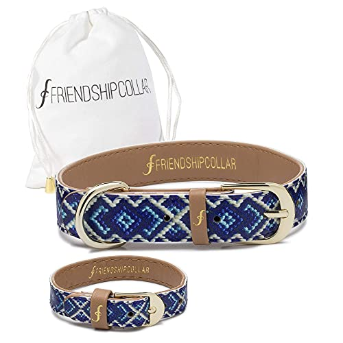 FriendshipCollar Dog Collar and Friendship Bracelet - The Mucky Pup -...