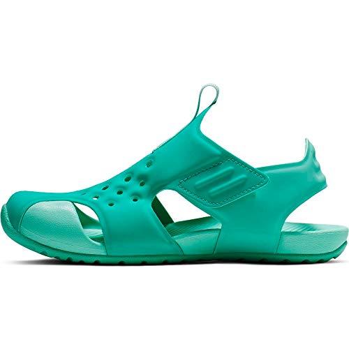 Nike Jungen Sunray Protect 2 (ps) Dusch- & Badeschuhe, Mehrfarbig (Hyper Jade/Teal Tint/Tropical Twist 000), 28 EU
