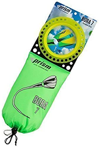 Prism Kites - Bora 7 (sq. ft.) Single Line Parafoil Kite, Jade by Prism Designs