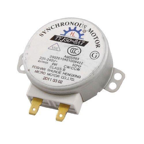 Romote Motor sincrónico de CA 220-240V 4W 4RPM Micro para microondas