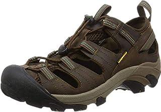 KEEN Men's Arroyo II Hiking Sandal,Slate Black/Bronze Green,9 M US