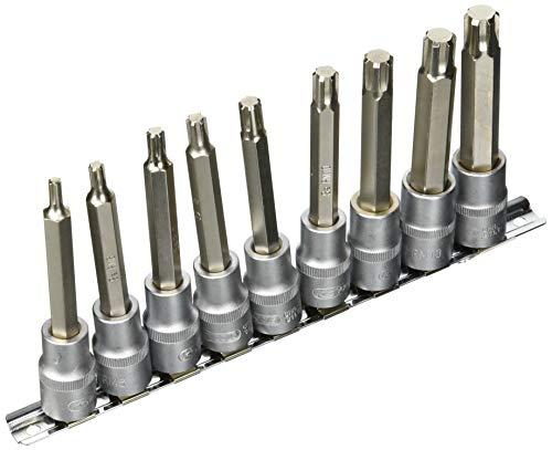 KS Tools 911.13351/5,1cm Ribe Bit Stecknuss, 9, M5-M14(2102