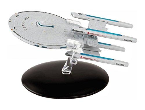 Filmwelt Shop USS Stargazer NCC-2893 Eaglemoss Collection Modell - Star Trek die Offizielle Sammlung: Ausgabe #24 mit deutschem Magazin