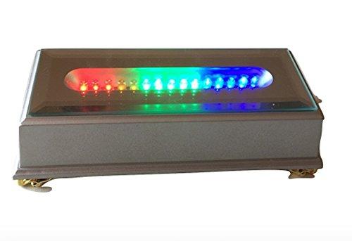 SOCLE à LEDS RECTANGULAIRE fixe piles CLIGNOTANT