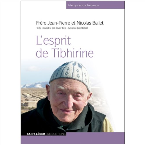 L'esprit de Tibhirine cover art