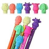 Mr. Pen- Erasers, Cap Erasers, 60 Pack, Animal Eraser Caps, Erasers for Kids, Pencil Eraser, Pencil Erasers Toppers, Eraser Pencil, Cute Erasers, Colorful Erasers, School Supplies, Pencil Top Erasers