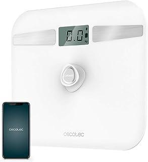 Cecotec - - Bathroom - Digital Bathroom Scales Cecotec EcoPower 10200 Smart LCD Bluetooth 180 kg White - Default Title