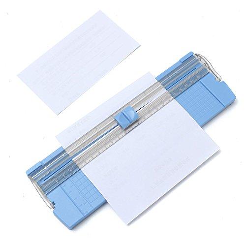 TuToy 26,5 x 8 x 1Cm A4/A5 Draagbaar Papier Trimmer Photo Cutter Voor het snijden Printer Papier Photo Paper