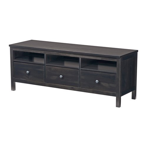 Ikea TV unit, black-brown 1226.29232.1826