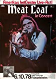 Meat Loaf - Bat Out of Hell 1978 - Poster Plakat