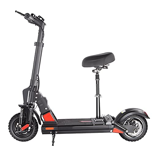 Electric Scooter for Adults, 500W/24 MPH(MAX Speed) Pro Scooter, Up to 25 Miles Long Range, 10'' Tires, Foldable and Portable Commuting Electric Scooter