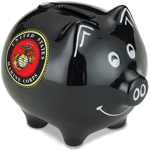 U.S. Armed Forces Piggy Savings Bank (Marine Corps) by M Cornell