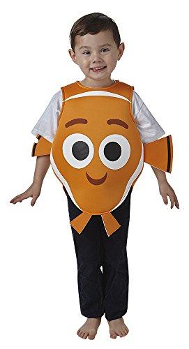 Rubies - Disfraz de Nemo para niños, infantil talla T (2-3 años) (Rubie