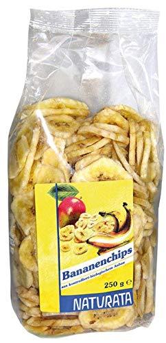 Naturata Bio Bananenchips, frittiert (6 x 250 gr)