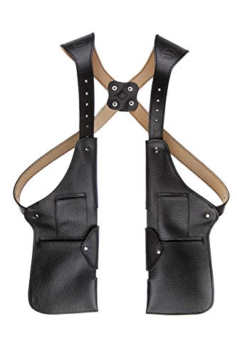 Borec1979 Handmade Leather Shoulder Waist Holster Travel Bag...
