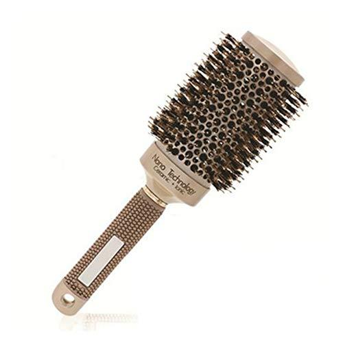 Peigne 1 chaise peigne brosse Nano brosse à cheveux thermique en céramique ionique baril rond peigne coiffure salon de coiffure outil de coiffure