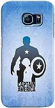 Stylizedd Samsung Galaxy S6 Premium Slim Snap case cover Gloss Finish - Steve Roger Vs Captain America