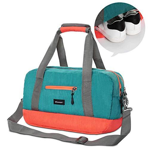 Schwimmen Tasche Wasserdicht,Reisetasche Duffle Bag,Sporttasche Travel Bag,Sporttasche Reisetasche mit Schuhfach,Taschen für Schwimmer,Gym Sporttasche,Handgepäck Weekender für Männer und Frauen