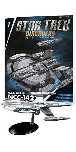 Star Trek: Discovery – die Raumschiffsammlung - Eaglemoss #7 mit englischem Magazin U.S.S. Buran NCC-1422