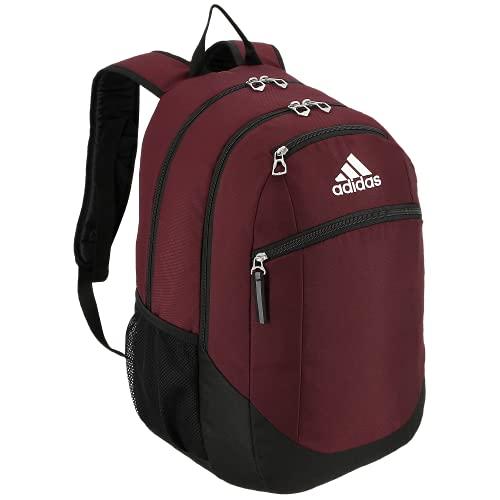 adidas Striker II Team Rucksack, Unisex-Erwachsene, Rucksacktasche, Striker 2 Team Backpack, Team kastanienbraun/schwarz/weiß, Einheitsgröße