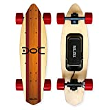 Nilox Doc Cruiser Electrique Adulte, Electric Cruiser Skateboard,Vitesse Max 15 km/h, Rouge