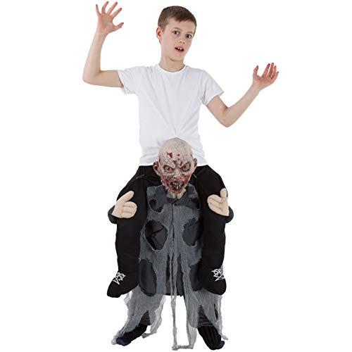 Kinder Zombie Huckepack Kostüm Lustiges Täuschungskostüm Trag Mich Verkleidung