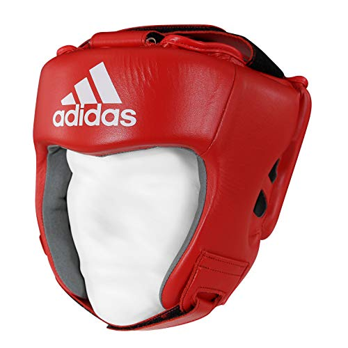 adidas AIBA Boxing Heard Guards Kopfschoner, Blau, XL