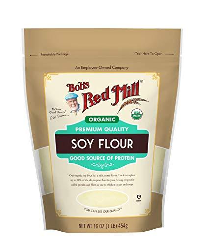 Bob's Red Mill Organic Soy Flour, 16 Oz
