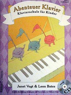 Edition Conbrio Abenteuer Klavier 2 - ERFAHRUNGEN - arrangiert für Klavier - mit CD [Noten/Sheetmusic] Komponist: VOGT Janet + Bates Leon