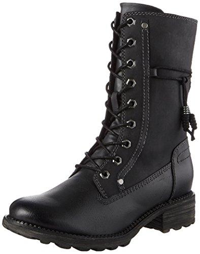 Tamaris Damen 26217 Combat Boots, Schwarz (Black), 37 EU