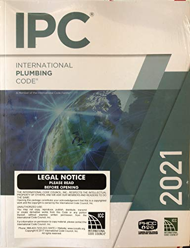 Compare Textbook Prices for International Plumbing Code 2021  ISBN 9781609839628 by International Code Council