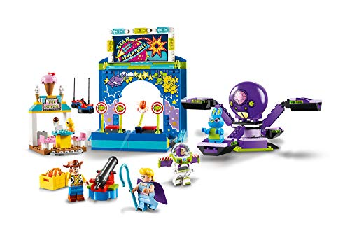 LEGO 4+ Toy Story 4 - Buzz y Woody: Locos por la Feria, Set de Construcción con Atracciones de Juguete, Incluye…