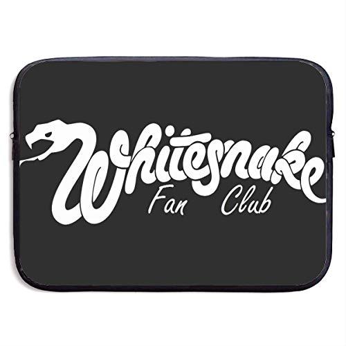 ytuytiutfi Whitesnake Laptop Bag Laptop Case Briefcase Messenger Shoulder Bag for Men Women 13 Inch Black