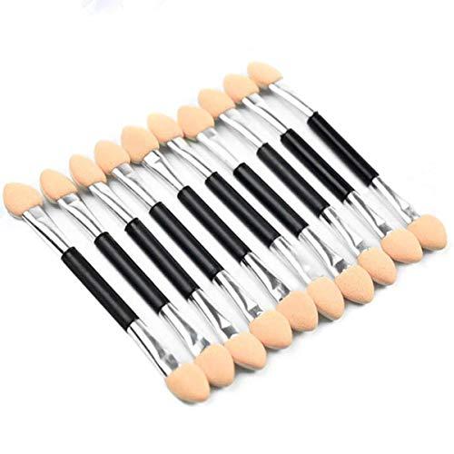 10pcs double face jetable applicateur d'ombre à paupières éponge outil de maquillage en mousse éponge